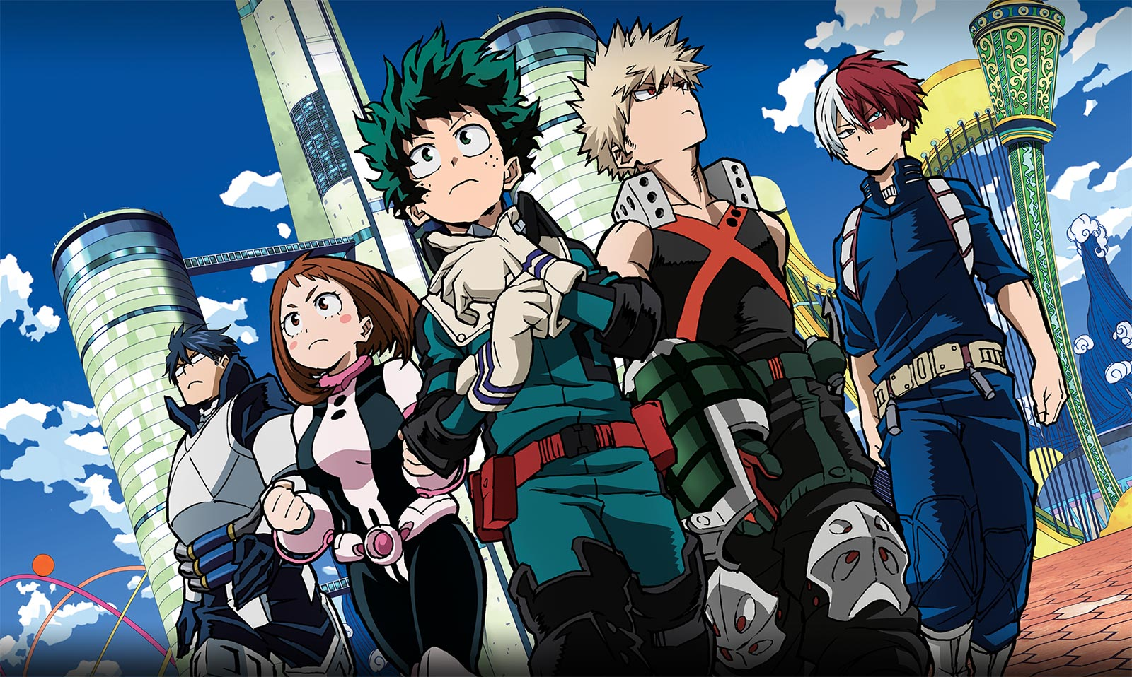My Hero Academia Two Heroes Movie To Release Later This Month