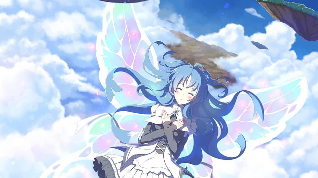 Top Blue Haired Anime Girls List Of 2020 Tv Season Spoilers